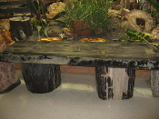 Indonesian Petrified Wood Table