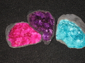 Dyed Geodes