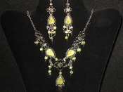 Semi-Precious Stone Necklace and Earring Sets