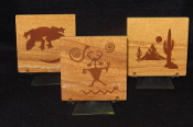 Sandstone Coasters with Prints