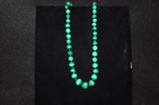 Malachite Necklace on Sale