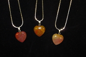 17 x 18mm Heart Necklaces