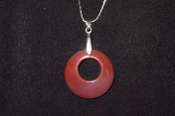 35mm Donut Circle Necklace