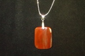 Faceted Rectangle Necklace
