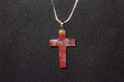 22 x 35mm Cross Necklace