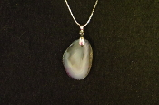 Agate Slice Necklace