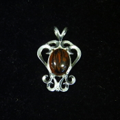 18 x 13 Sterling Pendant