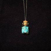 Turquoise Bottle Necklaces