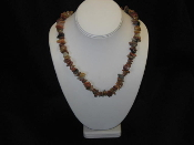 AZ Petrified Wood Necklace