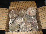 Medium box of Rough Geodes