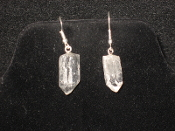 Quartz Crystal Earrings