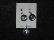 Kyanite Earrings & Pendant
