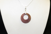 AZ Petrified Wood Circle Necklaces
