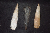 Large Agate Arrowheads 5 1/2 inches