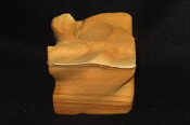 Thick Twist Sandstone Candle Holder