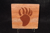 Bear Claw Sandstone Coaster
