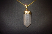 Quartz Crystal Necklaces
