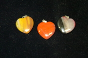 24mm Heart Pendants