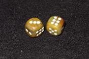Pair of 16 x 16mm Dice