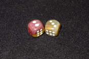 Pair of 16 x 16 Dice