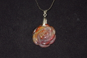 AZ Petrified Wood Rose Necklaces
