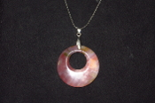 45mm Donut Circle Necklace