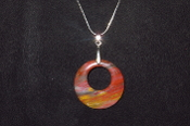41mm Donut Circle Necklace