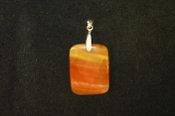 Faceted Rectangle Pendant
