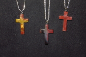 22 x 35mm Cross Necklaces