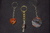 AZ Petrified Wood Key Rings