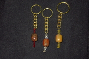 AZ Petrified Wood Barrel Key Rings