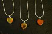 12mm Heart Necklaces