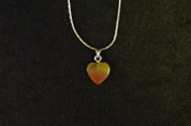 12mm Heart Necklace