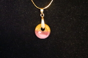 20mm Donut Circle Necklace