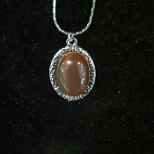 Oval Cabochon Necklace