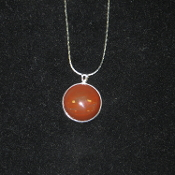 Round Cabochon Necklace