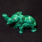 Malachite Elephants