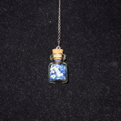 Sodalite Bottle Necklace