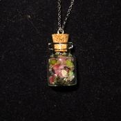 Tourmaline Bottle Necklace