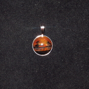 20mm Sterling Pendant