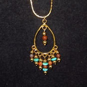 Dangle Beaded Necklace