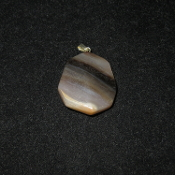 Faceted Octagon Pendant